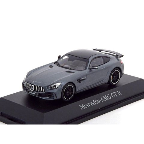 Mercedes Benz AMG GT R matt grey - Model car 1:43