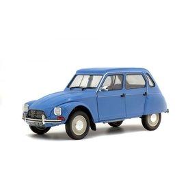 Solido Citroën Dyane 1967 blauw - Modelauto 1:18