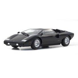 Kyosho Modelauto Lamborghini Countach LP400 zwart 1:18 | Kyosho