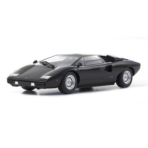 Modelauto Lamborghini Countach LP400 zwart 1:18   Kyosho