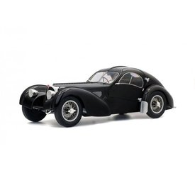 Solido Modellauto Bugatti Type 57SC Altlantic schwarz 1:18 | Solido