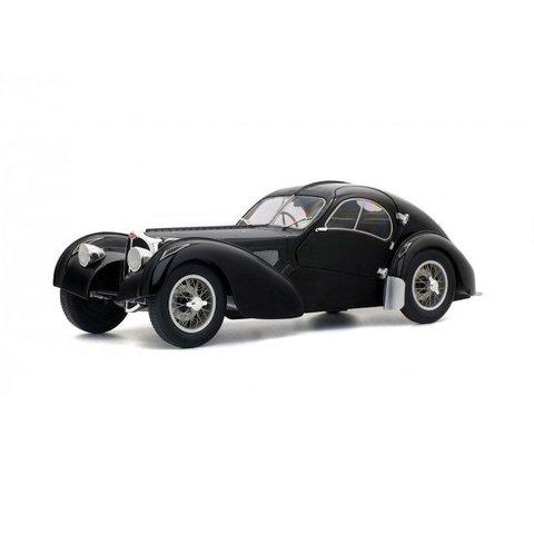 Modelauto Bugatti Type 57SC Altlantic zwart 1:18 | Solido