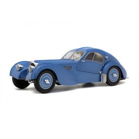 Solido Bugatti Type 57SC Atlantic blue metallic - Model car 1:18