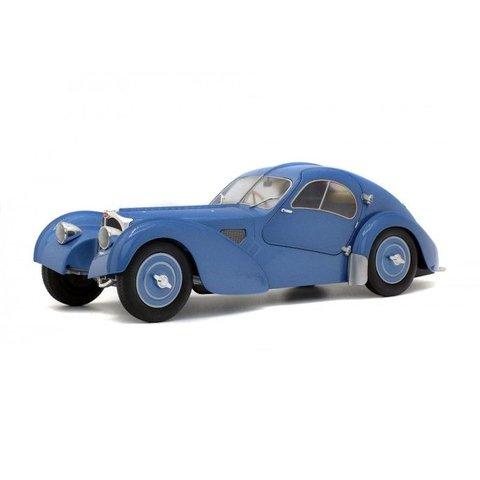 Bugatti Type 57SC Atlantic blauw metallic 1:18