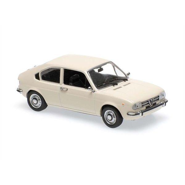 Modellauto Alfa Romeo Alfasud 1972 weiß 1:43 | Maxichamps