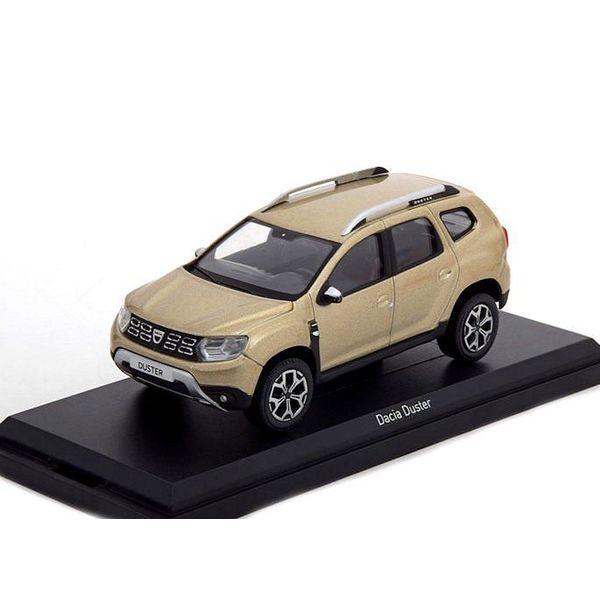 Model car Dacia Duster 2018 Dune beige 1:43