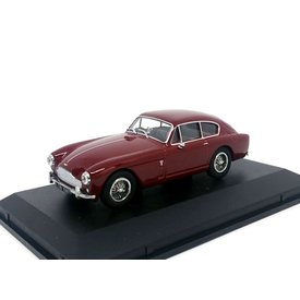 Oxford Diecast Aston Martin DB2 Mk III Saloon Peony red - Model car 1:43