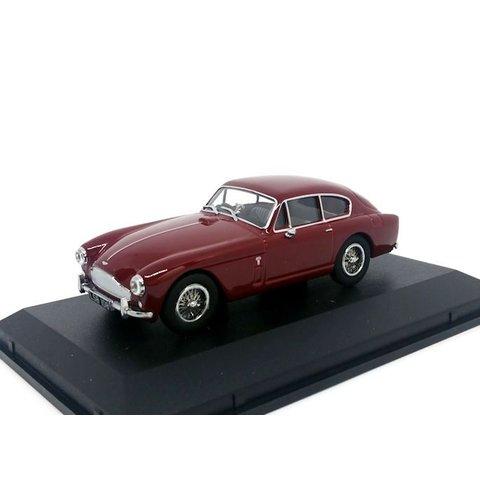 Aston Martin DB2 Mk III Saloon donkerrood - Modelauto 1:43
