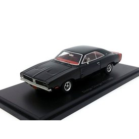 BoS Models Dodge Charger R/T 1969 schwarz - Modellauto 1:43