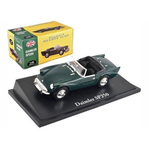 Daimler SP250 dark green - Model car 1:43