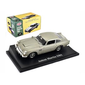 Atlas Model car Aston Martin DB5 grey metallic 1:43 | Atlas