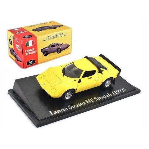 Lancia Stratos HF Stradale 1973 yellow - Model car 1:43