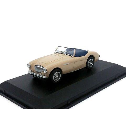 Model car Austin Healey 100 BN1 Coronet cream 1:43 | Oxford Diecast