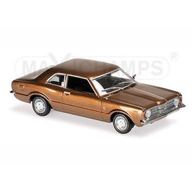 Maxichamps Model car Ford Taunus 1970 brown metallic 1:43 | Maxichamps
