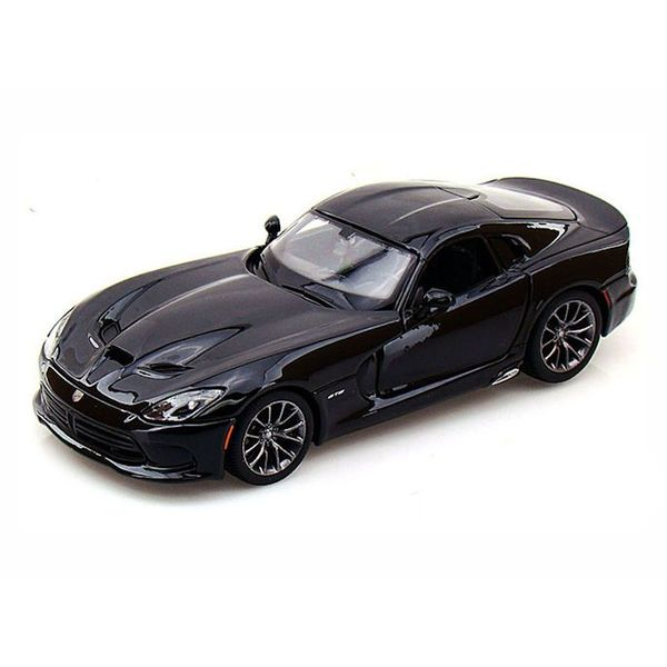 Modelauto Dodge SRT Viper GTS 2013 zwart 1:24