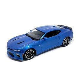 Maisto Chevrolet Camaro SS 2016 blauw metallic - Modelauto 1:18