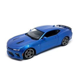 Maisto Chevrolet Camaro SS 2016 blue metallic - Model car 1:18