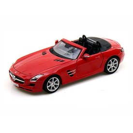 Maisto Mercedes Benz SLS AMG Roadster 2010 red - Model car 1:24