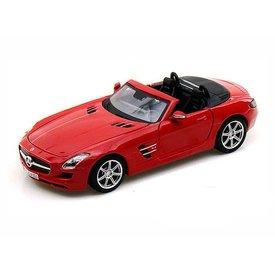 Maisto Modellauto Mercedes Benz SLS AMG Roadster 2010 rot 1:24 | Maisto