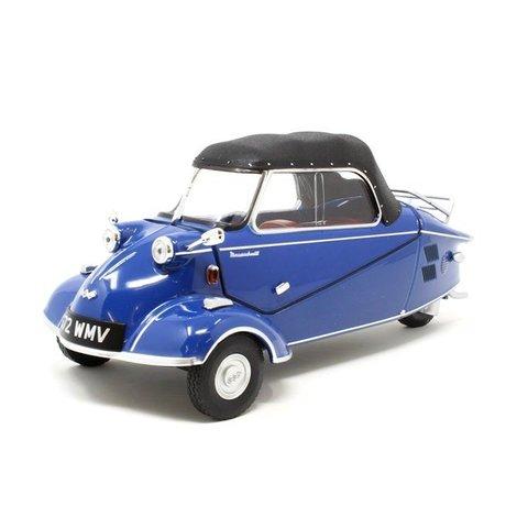Modelauto Messerschmitt KR200 Convertible blauw 1:18 | Oxford Diecast