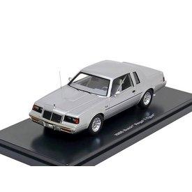 Ertl / Auto World Modelauto Buick Regal T-type 1986 zilver 1:43 | Ertl / Auto World