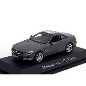 Norev Model car Mercedes Benz SL (R231) 2011 grey metallic 1:43 | Norev