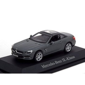 Norev Modelauto Mercedes Benz SL (R231) 2011 grijs metallic 1:43 | Norev