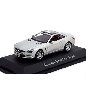 Norev Model car Mercedes Benz SL (R231) 2011 silver 1:43 | Norev