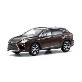 Kyosho Lexus RX 200t bruin metallic 1:43