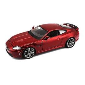Bburago Jaguar XKR-S dark red metallic 1:24