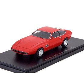 BoS Models Modelauto Intermeccanica Indra Coupe 1971 rood 1:43 | BoS Models