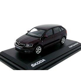Abrex Skoda Rapid Spaceback 2014 - Model car 1:43