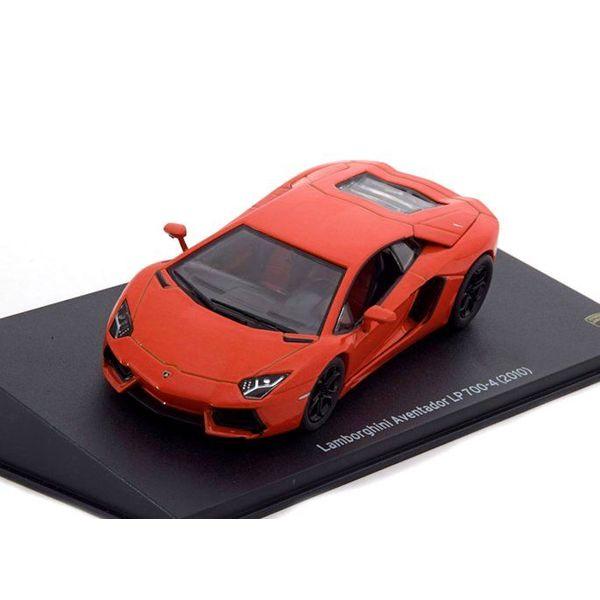 Modelauto Lamborghini Aventador LP 700-4 2010 oranje 1:43