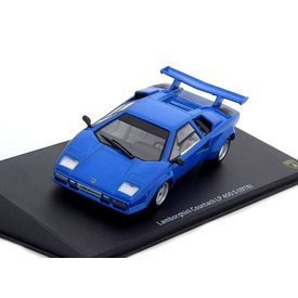 WhiteBox Modelauto Lamborghini Countach LP400 S 1978 blauw 1:43 | Leo Models