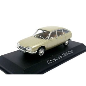 Norev Citroën GS 1220 Club 1973 beige metallic - Modelauto 1:43