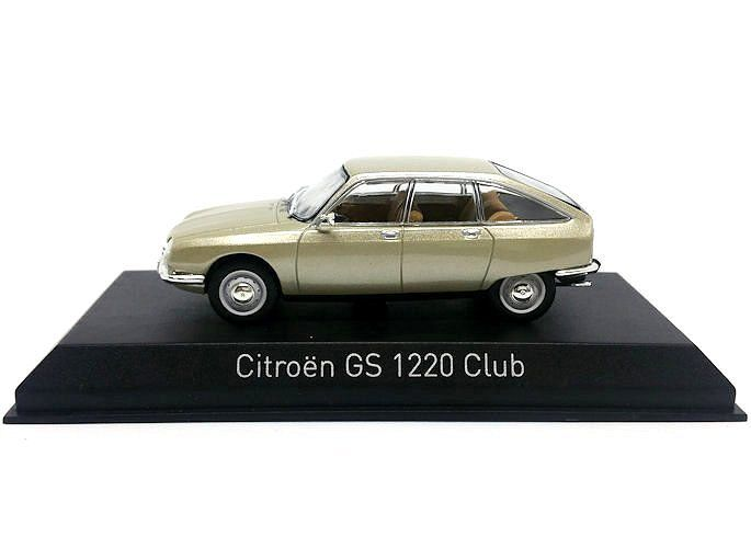 Citroen GS 1220 Club 1973 beige metallic Modellauto 1:43 Norev