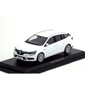 Norev Renault Megane Estate 2016 Glacier white - Model car 1:43