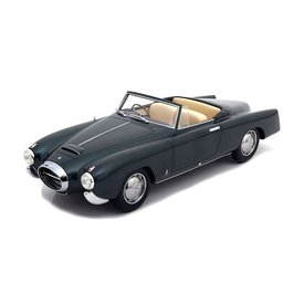 BoS Models (Best of Show) Lancia Aurelia PF200 Cabrio donkergroen - Modelauto 1:18