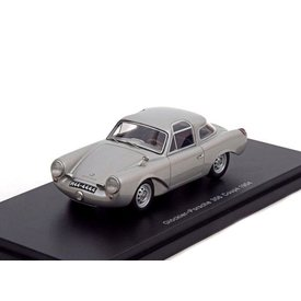 BoS Models Modelauto Glöckler Porsche 356 Coupe 1954 grijs metallic 1:43 | BoS Models