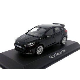 Norev Ford Focus RS 2016 zwart - Modelauto 1:43