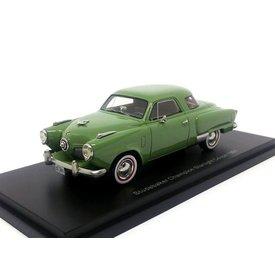 BoS Models Studebaker Champion Starlight Coupe 1951 groen - Modelauto 1:43