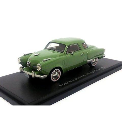 Studebaker Champion Starlight Coupe 1951 groen - Modelauto 1:43