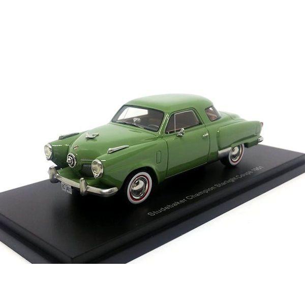 Modelauto Studebaker Champion Starlight Coupe 1951 groen 1:43