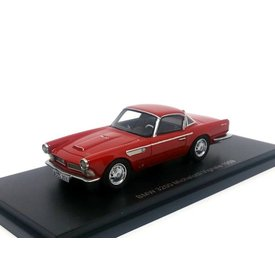 BoS Models BMW 3200 Michelotti Vignale 1959 red - Model car 1:43