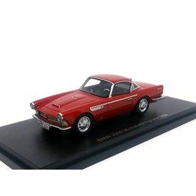 BoS Models Modelauto BMW 3200 Michelotti Vignale 1959 rood 1:43   BoS Models
