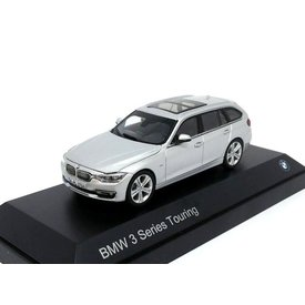 Paragon Models BMW 3 Serie Touring (F31) 2012 zilver - Modelauto 1:43
