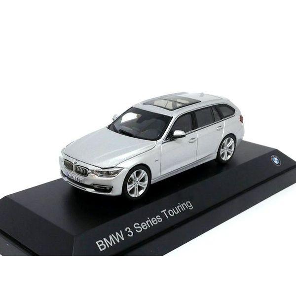 BMW 3 Series Touring (F31) 2012 Glacier silver - Model car 1:43