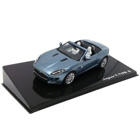 Ixo Models Jaguar F-type S Convertible  Satellite grey - Model car 1:43
