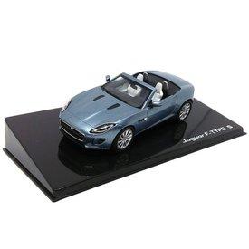 Ixo Models Jaguar F-type S Convertible Satellite grijs 1:43