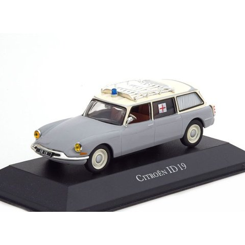 Citroën ID 19 Break ambulance 1962 - Model car 1:43